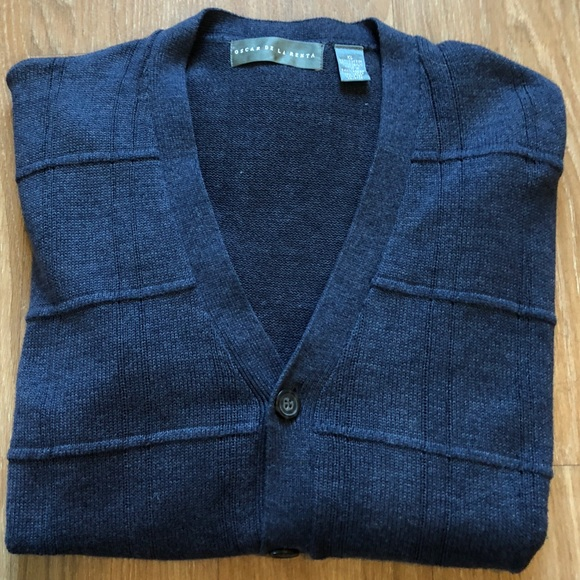 Oscar De La Renta Sweaters Mens Cardigan Poshmark